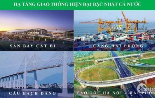 Bán đất nền dự án khu đô thị Nam Hải phuc loc  New Horizon, Hải Phòng.