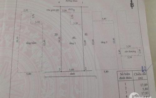 Bán nhà siêu đẹp 1 trệt 3 lầu dt 103m2 P. Trung Dũng giá chỉ 4.8 Tỷ | Hoàng Phạm – 0983 330 462