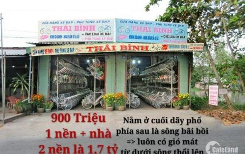 Bán gấp 2 nền và nhà liền kề _ mặt tiền đường tỉnh lộ 869 Chợ Cái Nứa H Cái Bè TG , NGANG 4M DÀI 27M