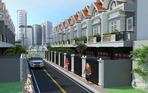 Nhà phố liền kề đối diện KCN cầu Tràm, SHR, giá gốc chủ đầu tư