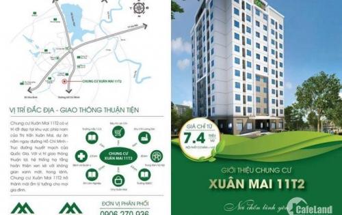dự án 11T2 xuân mai đã chính thức mở bán với giá rẻ bất ngờ chỉ với 150tr đã có thể sở hữu chung cư