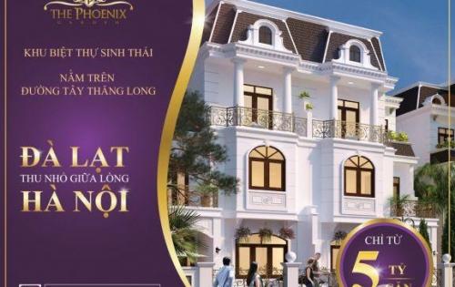 Mở bán 30 biệt thự nghỉ dưỡng trong lòng Hà Nội, giá chỉ 15 triệu/m2, trúng Mazda3