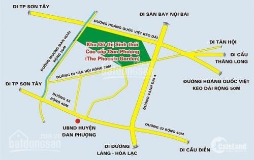 Chính chủ bán Lô 07/ Dãy C8a, tại Biệt Thự Sinh Thái Phùng – LH: 0977084485