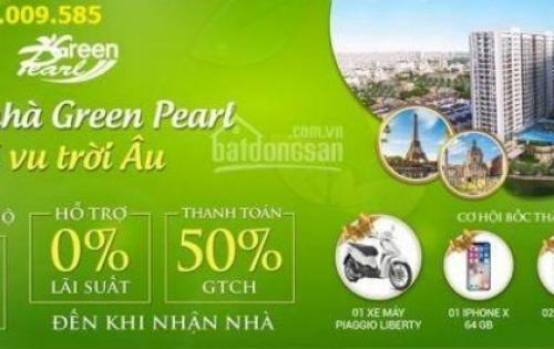 Tặng xe Liberty,IPHONE X, Ck 11%, Ls 0% khi mua chung cư Green Pearl 378 Minh Khai, LH: 0945.125.028