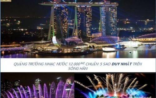 Căn hộ cao cấp siêu hot với đề xuất quảng trường nhạc nước 12.000m2 chuẩn Sing