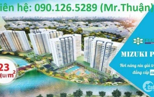 Căn hộ 3 mặt View Sông  giá Bình dân trên đường Nguyễn văn Linh, dt 72m2 giá chỉ từ 1,5 tỷ.