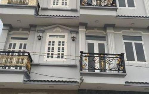Bán nhà mới hẻm xe hơi 8m Huỳnh Tấn Phát - Nhà Bè