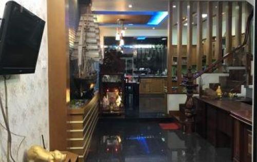 Nhà 4 tầng MT đường số 6 KDC Phước Kiển, Nhà Bè gần nhà MC Quyền Linh