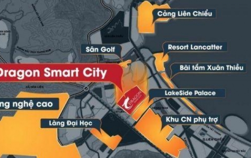 Bán đất nền biệt thự 2 mặt tiền dự án dragon smart city giá tốt nhất Q. Liên Chiểu TP Đà Nẵng