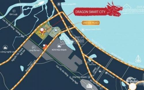 Bán Đất Nền Biệt Thự 2 Mặt Tiền Dự Án Dragon Smart City Q. Liên Chiểu Tp Đà Nẵng