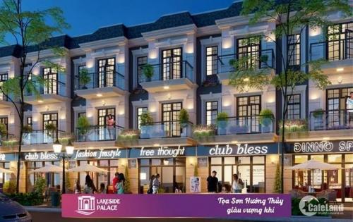Công ty Đất Xanh Đà Nẵng mở bán dự án Lakeside Infinity- Nhà phố kinh doanh 3 tầng