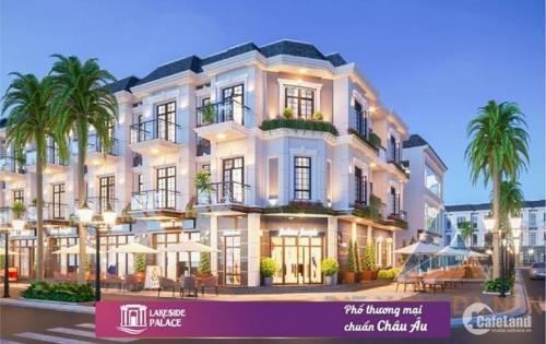 Siêu hot nhà phố Lakeside Palace - Trung tâm quận Liên Chiểu - Đầu tư tầm trung với giá chỉ từ 3,8 tỷ/căn