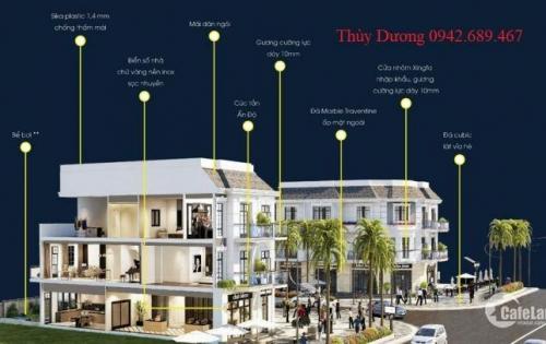 Đầu tư ngay Shophouse mặt tiền đường 25m trung tâm Tây Bắc Đà Nẵng
