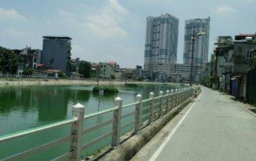 Siêu phẩm nhà Mặt hồ Tai Trâu Ngọc Lâm, 107m2, 4T, Gara ô tô giá chỉ 7.4 tỷ. LH 0904551340