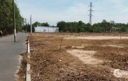 Chỉ còn 1 nền đất mặt tiền đường lớn , KDC đông đúc ngay Sân bay Long Thành giá 500tr, SH.
