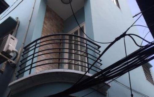 Nhà căn góc 2 mặt tiền hẻm bê tông rộng 2,5m