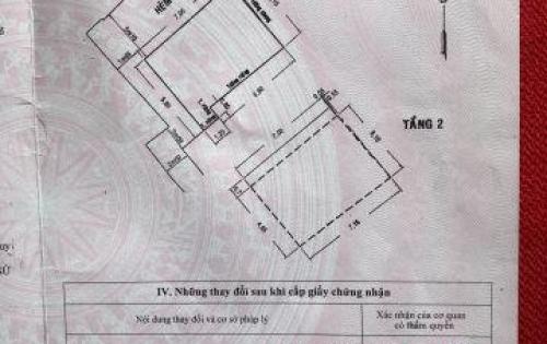 Bán nhà địa chỉ số 59/8 hồ hảo hớn phường cô giang quận 1