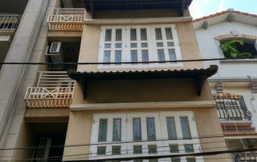 Bán nhà mặt tiền Nguyễn Cư Trinh, Nguyễn Cư Trinh, DT: 4x21m, trệt, 3 lầu, cho thuê 85tr/tháng.