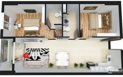 Cần bán căn hộ Prosper Plaza. Căn 2 phòng ngủ, view hồ bơi nội khu