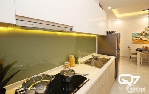 Căn hộ ngay trung tâm SG Q7, giá thấp nhất khu Nam, tặng nội thất cao cấp