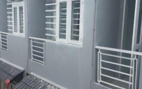 Nhà phố Thạnh Xuân gần CĐ Điện Lực q12 giá chỉ 900tr 2PN 2 WC KDC đông đúc