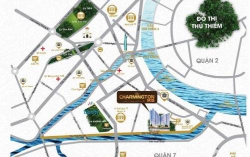 Dự án vị trí vàng mặt tiền đường Tôn Thất Thuyết quận 4 , Charmington iris nơi khởi nguồn,miền kết tựu