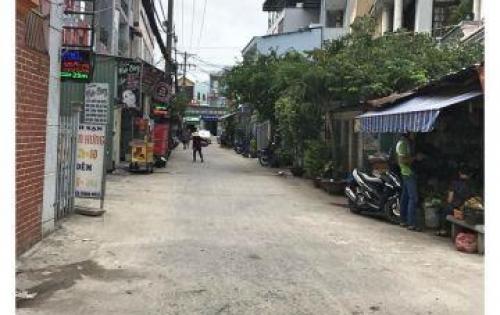 Bán nhà nát nở hậu 6,1x27m MT HXH 458/15 Huỳnh Tấn Phát