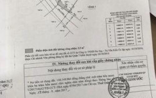 Bán gấp lô đất nền hẻm 791 đường Trần Xuân Soạn Phường Tân Hưng Quận 7