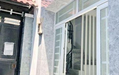 Bán nhà mới 1 lầu hẻm nhánh cầu Tân Thuận 2 P. Tân Thuận Tây Quận 7