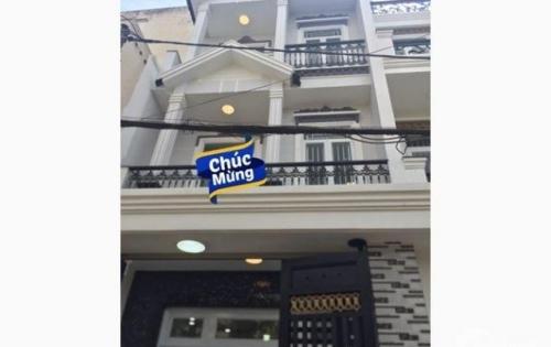 Bán nhà 3 lầu hẻm 487 Huỳnh Tấn Phát, Quận 7, giá 5,8 tỷ