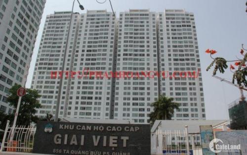 Chính chủ bán căn hộ Giai Việt 2PN 115m2 giá chỉ 2,530 tỷ tặng nội thất.