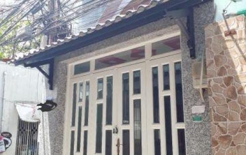 Bán nhà hẻm 3m 231 đường Dương Bá Trạc phường 1 quận 8