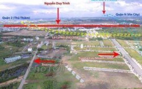 Bán nhanh dự án đất nền nằm ở gần chợ Long Trường quận 9
