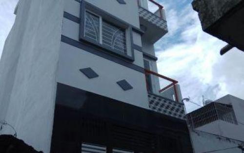 Bán gấp nhà mới xây 2 sẹc HXH Nguyễn Quý Yêm – An Lạc – Bình Tân  * Kếtcấu: + 1 trệt 3 lầu sân thượng * Diện tích: + 4 x 12 * Tiện ích: + Đường betong  5m thông