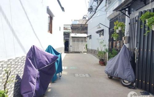 Nhà 1T1L nội thất rất đẹp Lê Đức Thọ gần cầu Cụt F13 giá 2.95 tỷ
