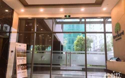 bán nhanh văn phòng, 36m2, full nội thất, giá chỉ 1,7 tỷ ( bao phí)- Orchard Garden