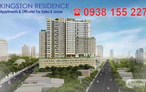 Chuyên bán CH Kingston Residence, giá tốt nhất Sài Gòn. Hotline PKD CĐT: 0938.155.227