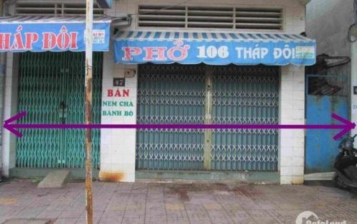 Nhà bán nguyên căn mặt tiền đường Tháp Đôi Quy Nhơn