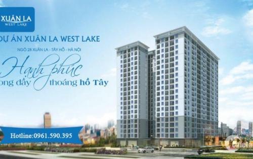 Bán căn hộ view Hồ Tây trực diện chỉ 30 triệu/m2 cách hồ 5 phút đi bộ.