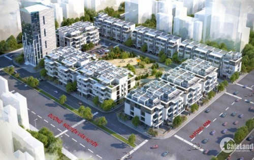 Cần bán LK40 dự án Romatic Park - đường Nguyễn Văn Huyên kéo dài