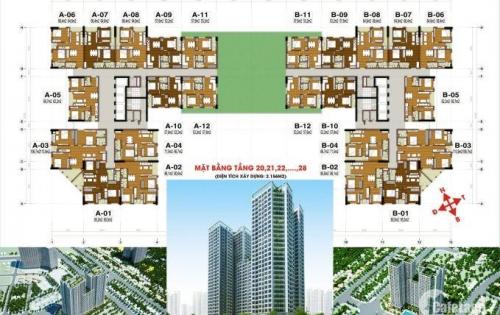 Chỉ với 350 triệu đồng, bạn có cơ hội sở hữu căn hộ chung cư Tecco Tower 2 phòng ngủ, 2 nhà vệ sinh tại trung tâm hành chính mới của huyện Thanh Trì, Hà Nội.