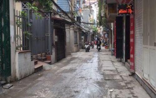 cần bán lại căn nhà 2 mặt ngõ thông kinh doanh buôn bán được ô tô đỗ trước cửa ngay tại mặt ngõ phố Khương Trung, Thanh Xuân, Hà Nội.