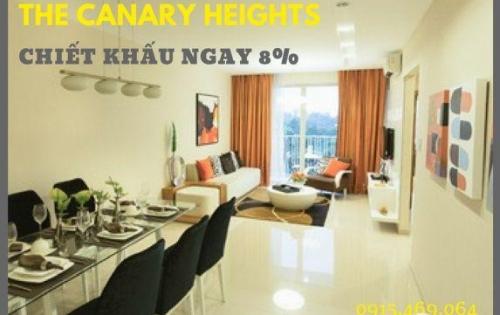 The Canary Heights – Nhận Ngay 8% Chiết Khấu Khi Thanh Toán