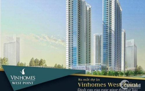 Bán căn Officetel 1 ngủ 53m2 dự án Vinhomes WestPoimt- Đỗ Đức Dục.