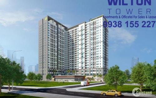 Cần cho thuê CH Wilton Tower 2 PN, DT 68 m2, view KDL Văn Thánh, tầng cao thoáng mát, 0938.155227