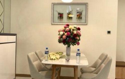 Cho thuê căn hộ Vinhomes tầng trung 2PN giá 16triệu/tháng view sông SG LH:0909800965