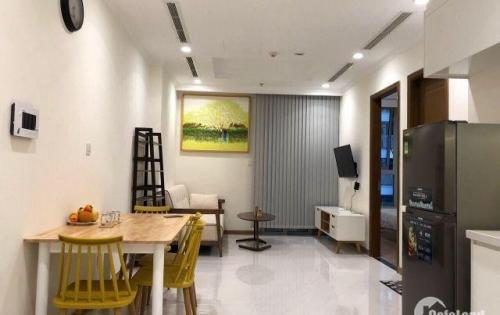 Cho thuê căn hộ Vinhomes 1PN full nội thất cao cấp mới decor lại, 16tr/tháng LH:0909800965