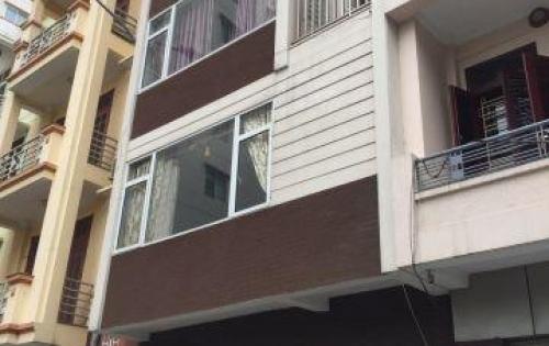 Cho thuê nhà mặt phố Trần Quốc Vượng, 52m2x6T, MT 6m. Giá thuê 40tr/th.