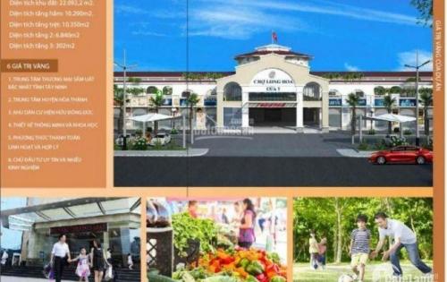 Cơ hội đầu tư và kinh doanh tại chợ TTTM Long Hoa Tây Ninh.
