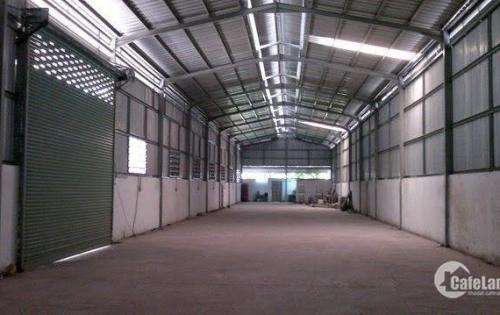 Cho thuê kho xưởng 610m2 tại Đức Giang, Long Biên Hà Nội điện nước tốt